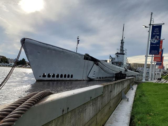 USS Cobia haunted submarine in Manitowoc