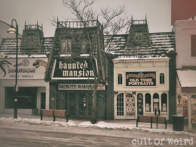 Haunted Mansion in Wisconsin Dells