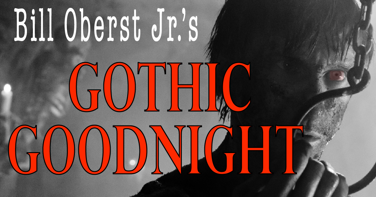 Horror actor Bill Oberst Jr reads gothic literature