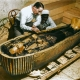 Tomb of Tutankhamun when it was discovered in 1922