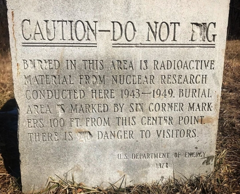 Remains of world's first nuclear reactor in Chicago's Red Gate Woods