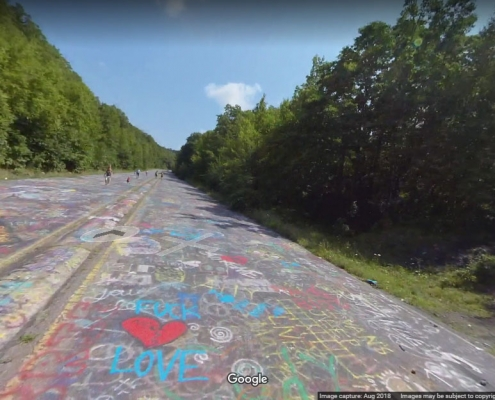 Take a virtual walk down Centralia's Graffiti Highway
