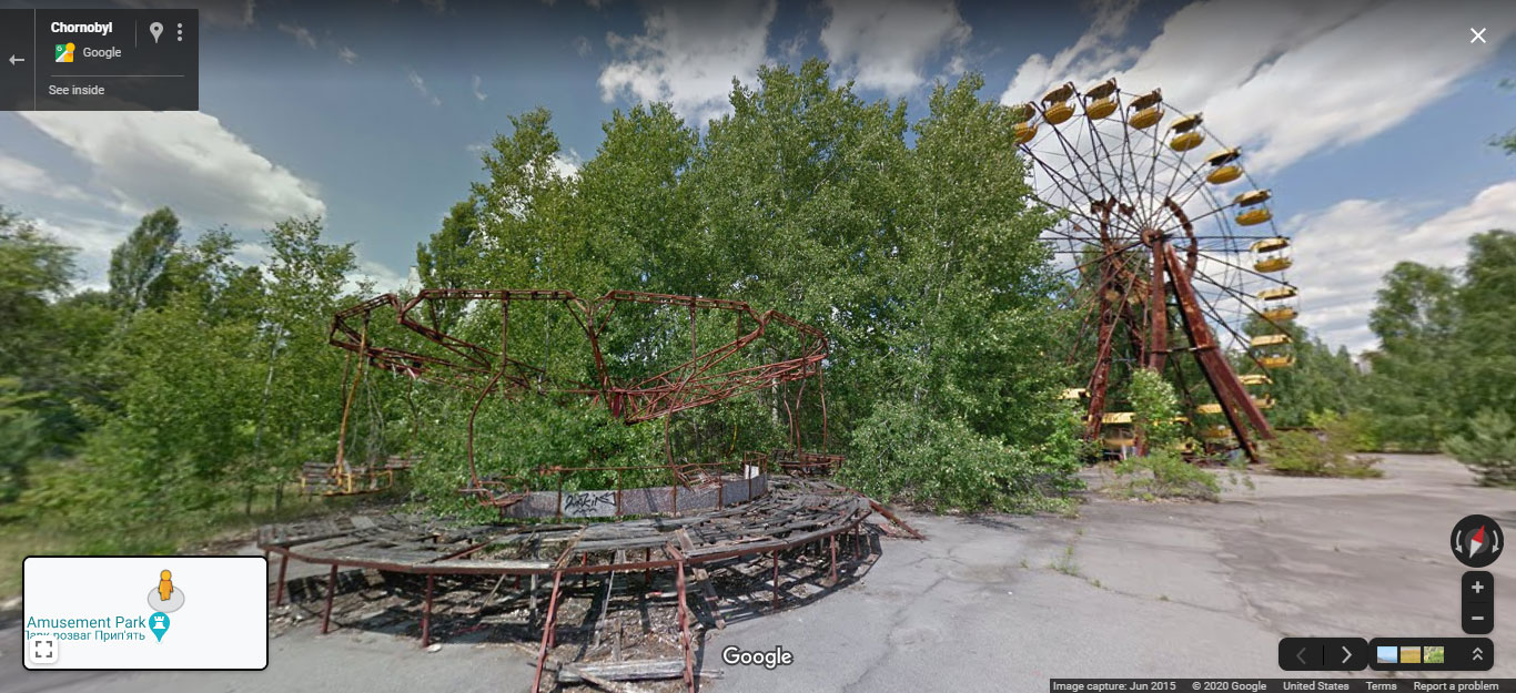 Virtual tour of Pripyat, the city abandoned after the Chernobyl Disaster