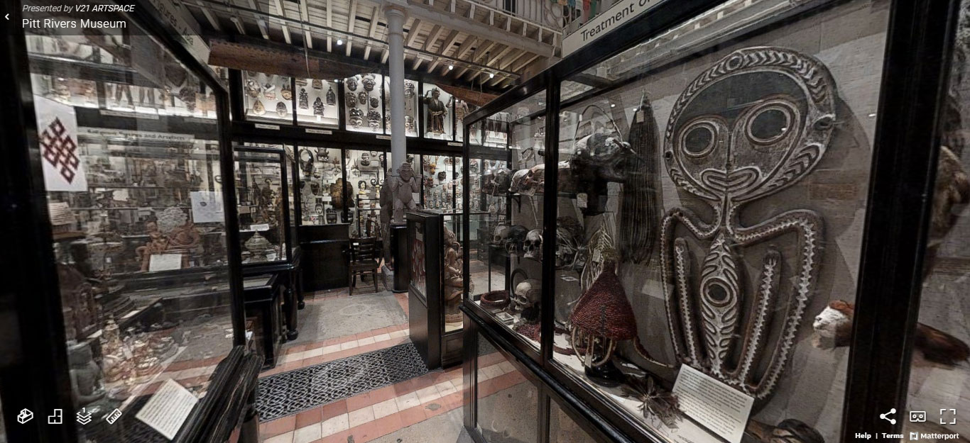 Pitt Rivers Museum virtual tour