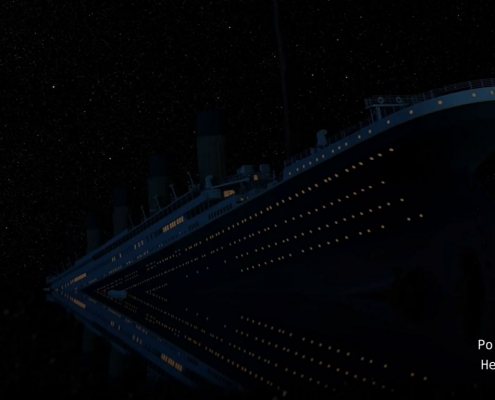 Watch Titanic sink in real time
