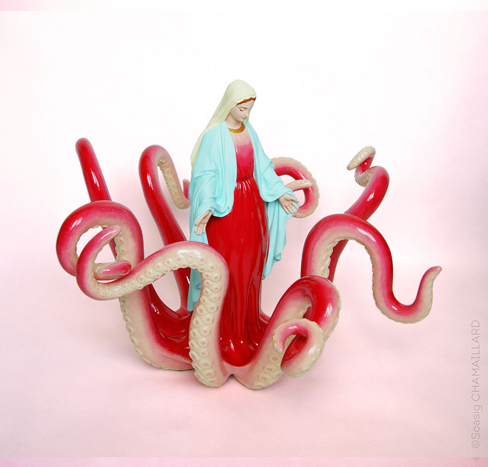 Notre Dame du Poulpe (Our Lady of Octopus) by Soasig Chamaillard