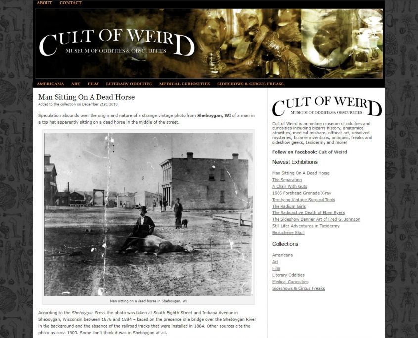 Cult of Weird in 2010
