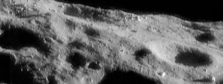 Eugene Shoemaker buried on the Moon