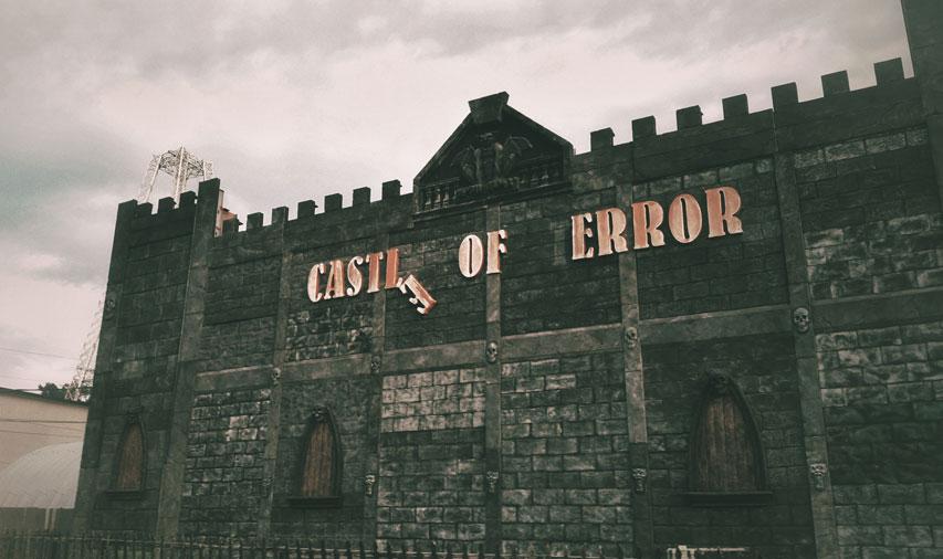 Castle of error in Wisconsin Dells