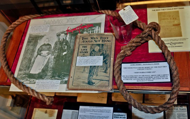 The noose that failed to hang John Babbacombe Lee