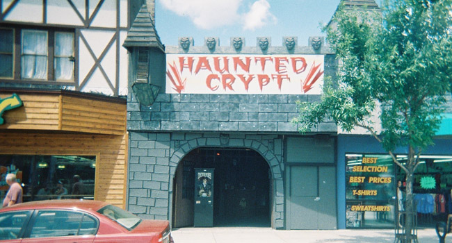 Haunted Crypt attraction in Wisconsin Dells