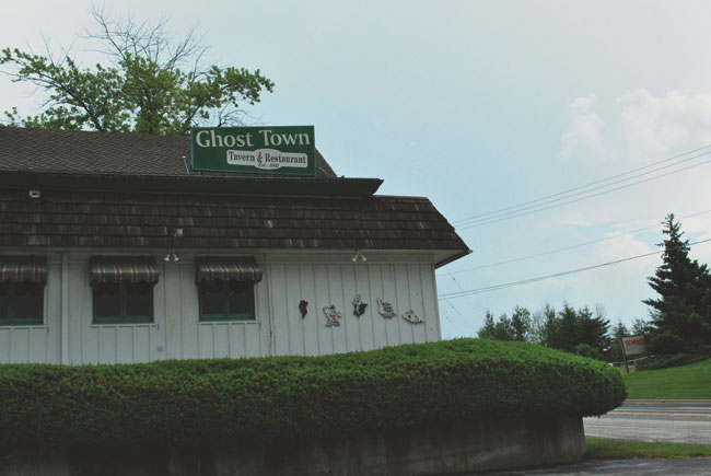 Ghost Town Tavern & Restaurant, Ulao's original tavern, still stands