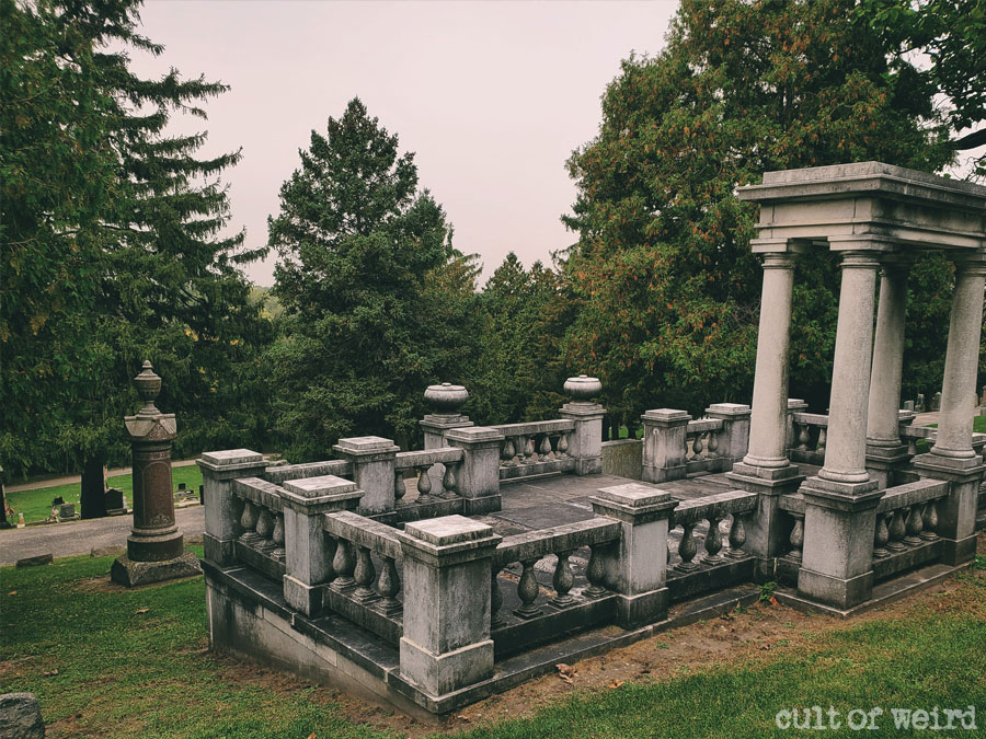 Hillside Cemetery in Whitewater, Wisconsin