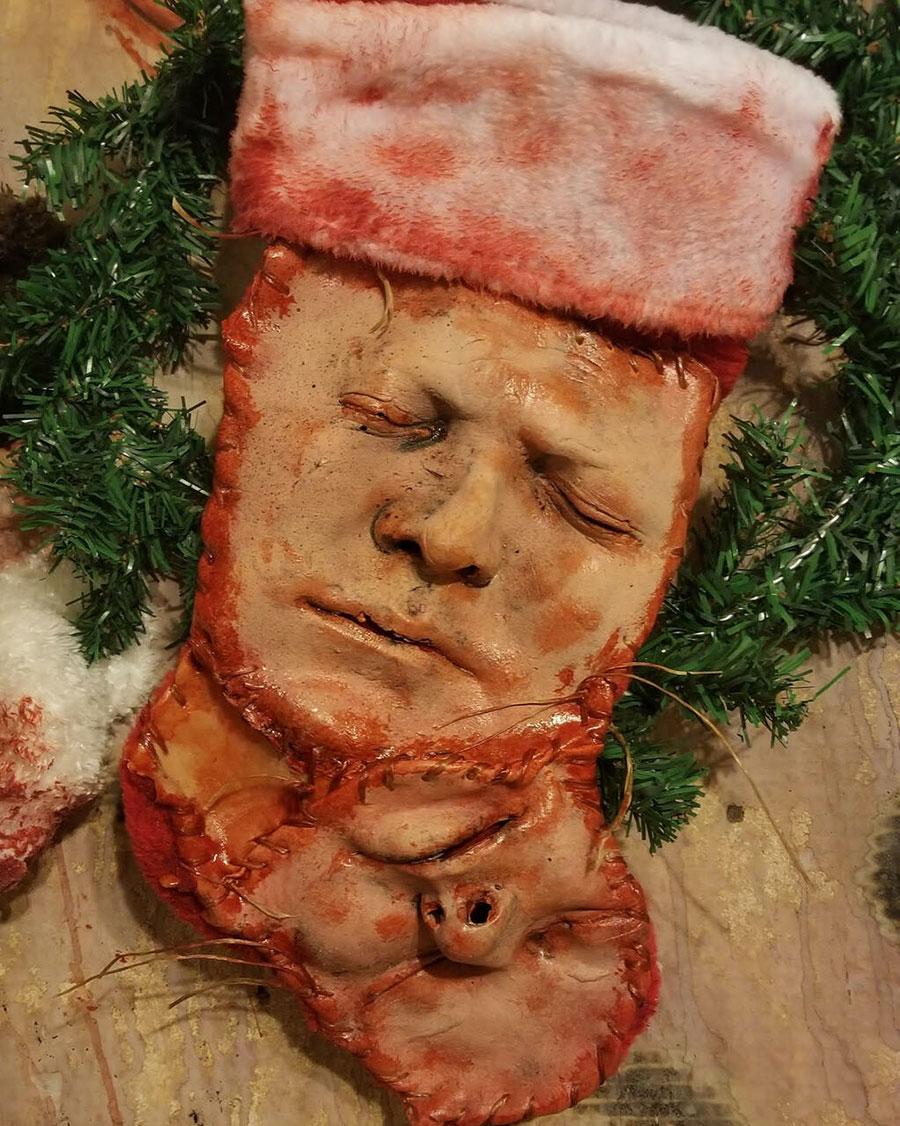 Ed Gein Christmas Stocking