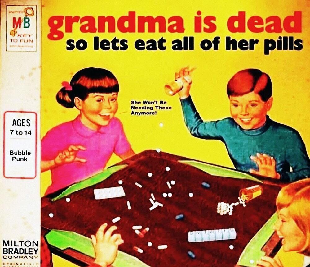 Grandma is Dead board game