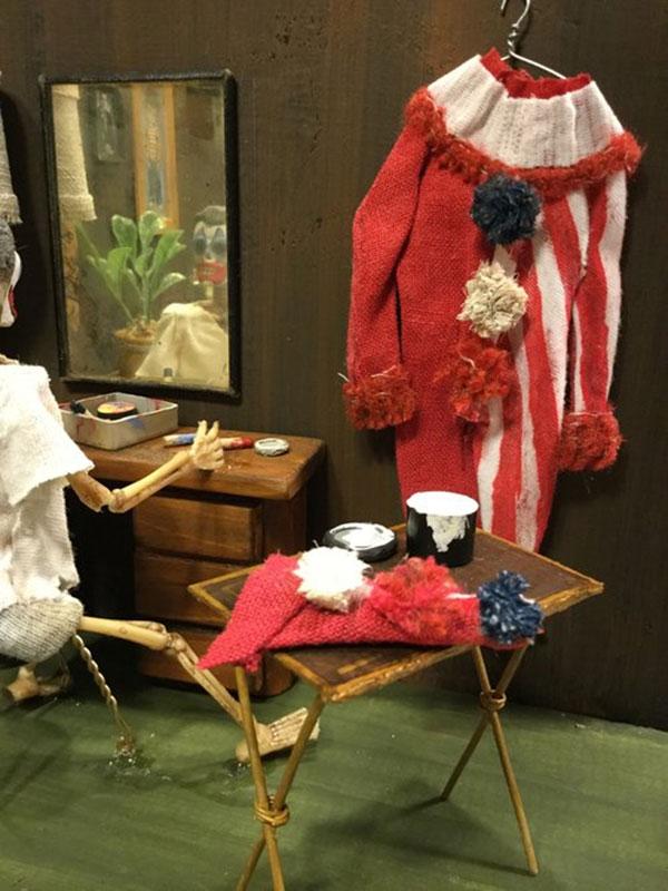 John Wayne Gacy diorama by History Bones