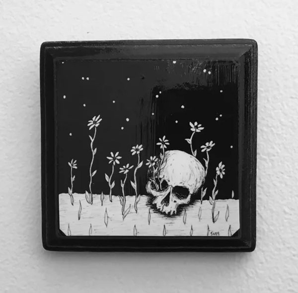 LIfe out of Death by Jody Monochrome
