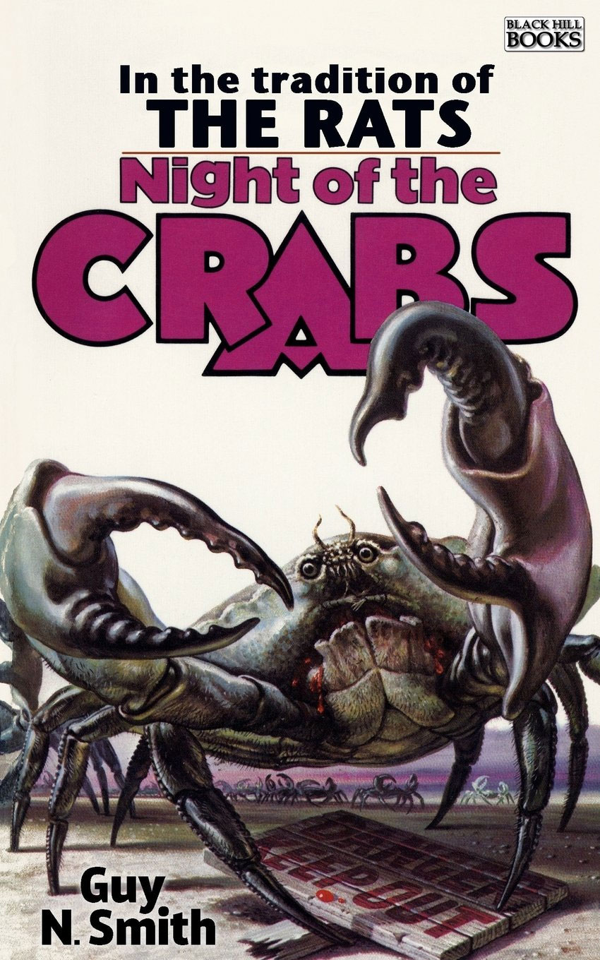 Night of the Crabs horror paperback cover