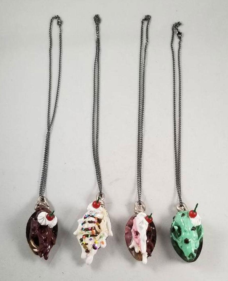 Sweet skulls sundae necklaces