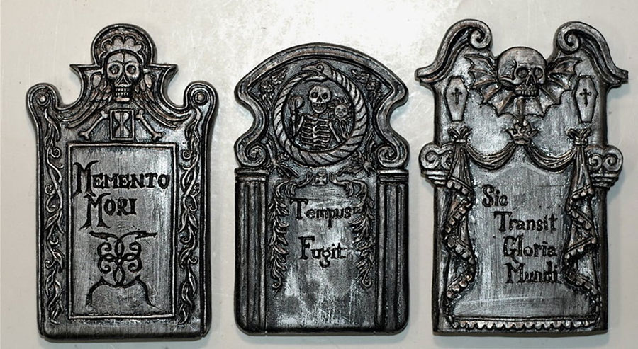 Tombstone magnets