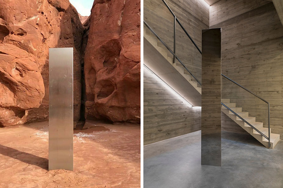 Was the Utah Monolith created by artist John McCracken?
