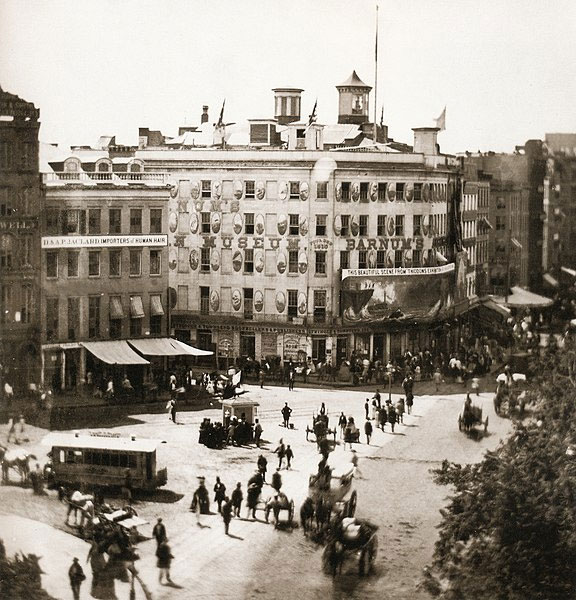 Barnum's American Museum in New York, 1858