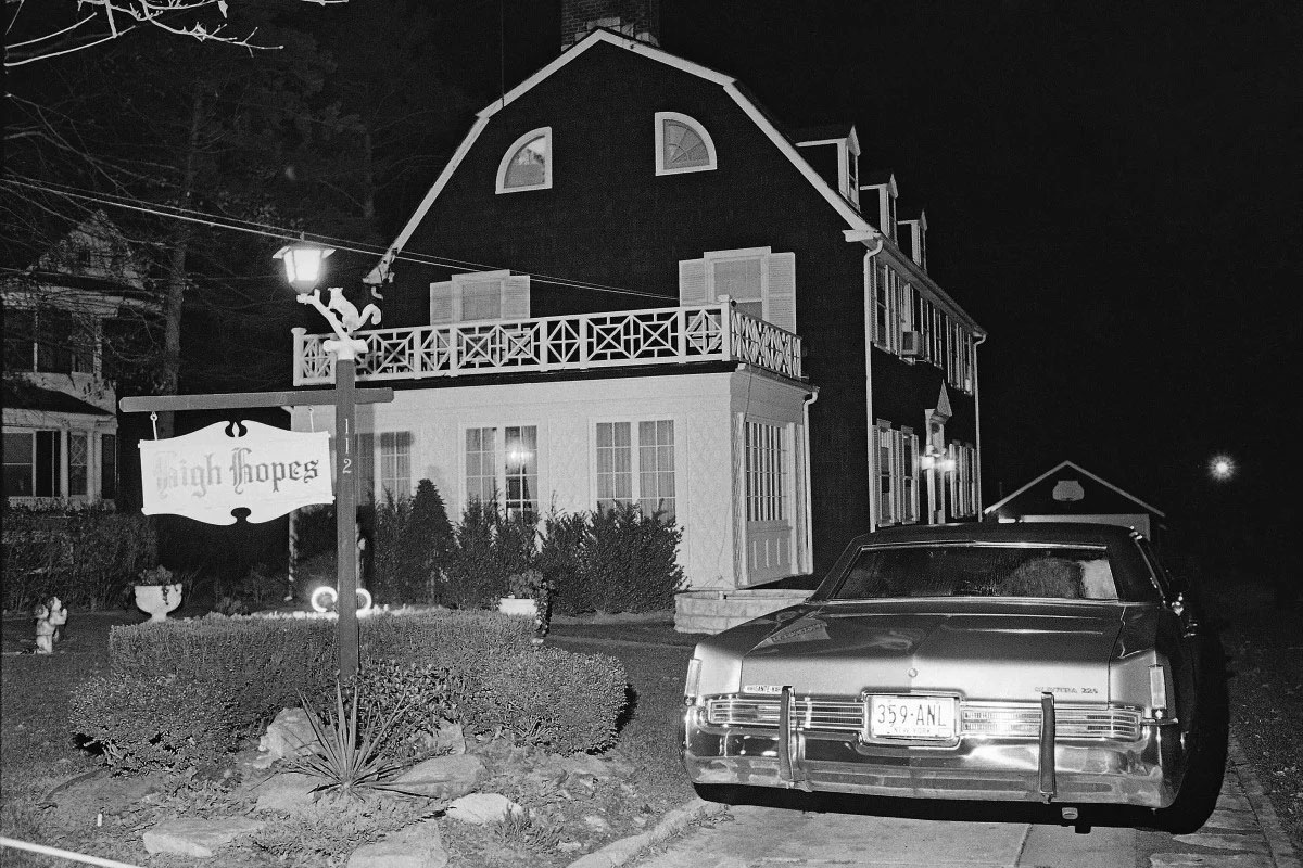 The Amityville Horror house where Ronald DeFeo Jr. shot and killed his entire family