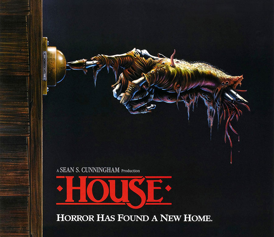 House 1986 horror movie poster