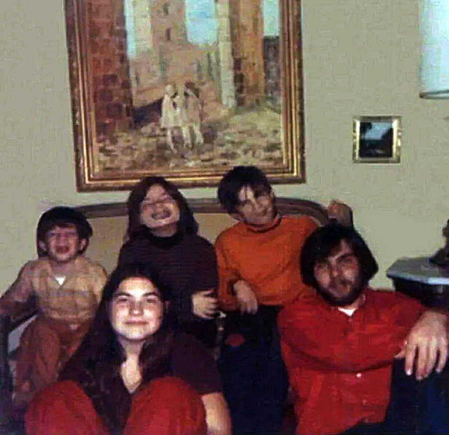 Ronald DeFeo and his siblings not long before the murders