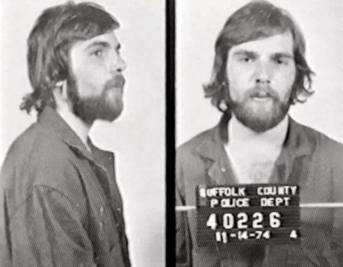 Mugshot of mass murderer Ronald DeFeo Jr.