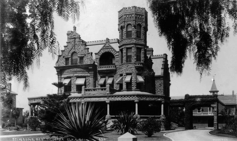 The historic Stimson House in Los Angeles