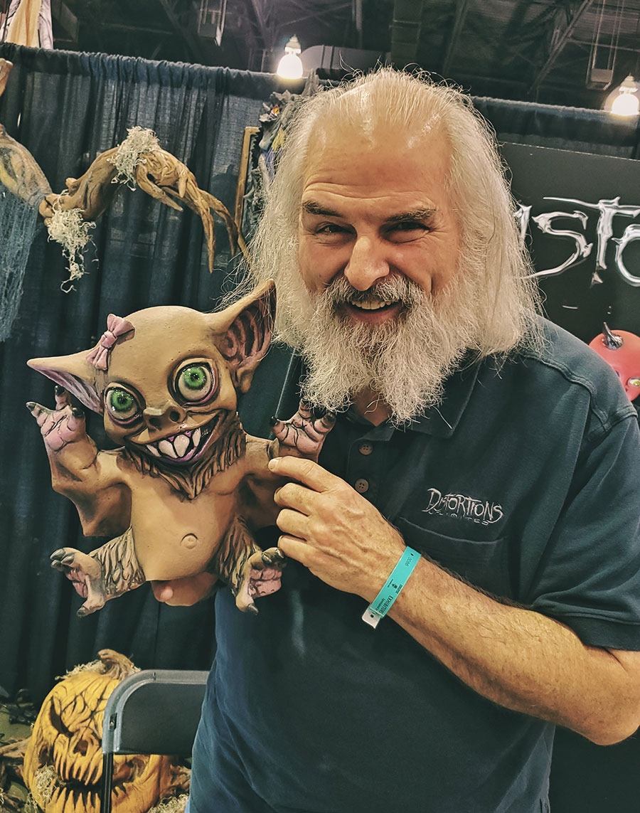Ed Edmunds of Distortions Unlimited and the Travel Channel series Making Monsters