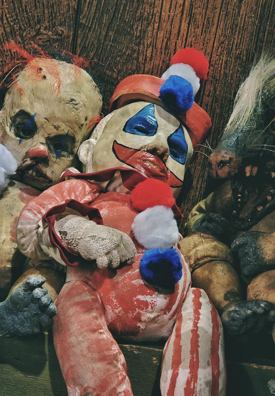 John Wayne Gacy Pogo the Clown doll from Pumpkin Pulp